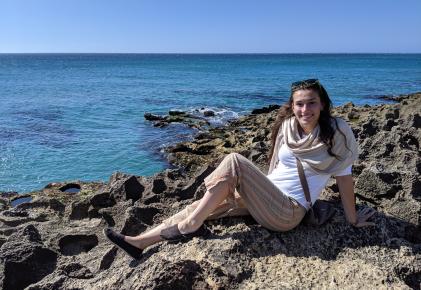 El primer día en Tangier